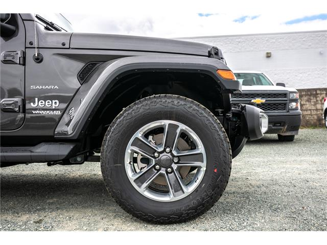 2019 Jeep Wrangler Unlimited Sahara (Stk: K626179) in Abbotsford - Image 12 of 23