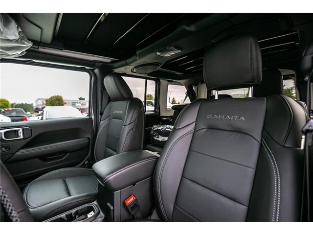 2019 Jeep Wrangler Unlimited Sahara (Stk: K626179) in Abbotsford - Image 20 of 23