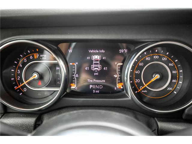 2019 Jeep Wrangler Unlimited Sahara (Stk: K626179) in Abbotsford - Image 21 of 23