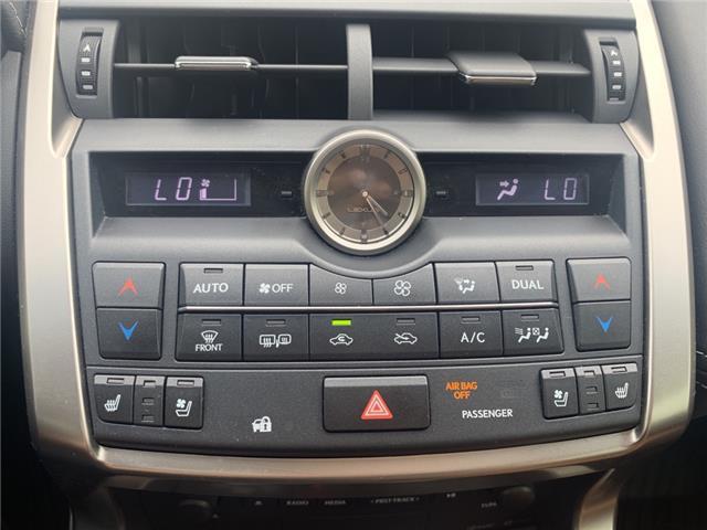 2017 Lexus NX 200t Base (Stk: L8656) in Oakville - Image 18 of 21