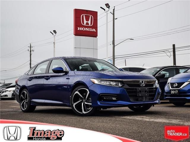 2019 Honda Accord Sport 2.0T (Stk: 9A143) in Hamilton - Image 1 of 19