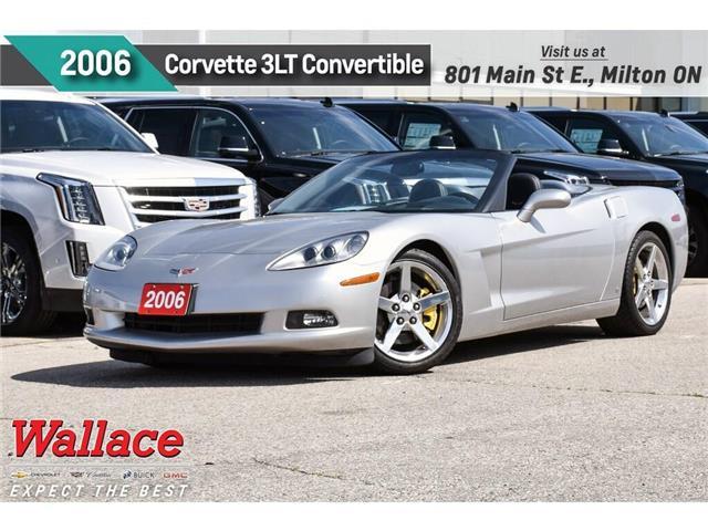 2006 Chevrolet Corvette 3LT/6-MAN/HTD SPRT SEATS/HUD/BOSE/POWER TP/2-OWNR (Stk: PL5201A) in Milton - Image 1 of 27
