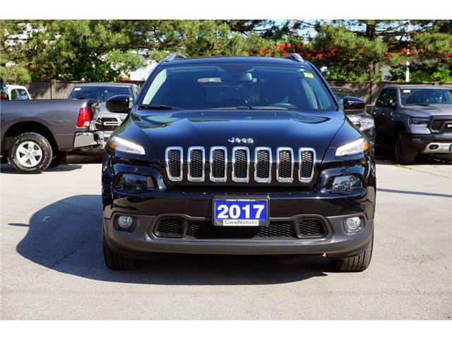 2017 Jeep Cherokee NORTH| REAR CAM| REMOTE START| HEATED SEATS (Stk: K663A) in Burlington - Image 2 of 48