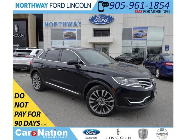 2017 Lincoln MKX Reserve | 335 HP 2.7L | NAV | PANOROOF (Stk: P5071) in Brantford - Image 1 of 44