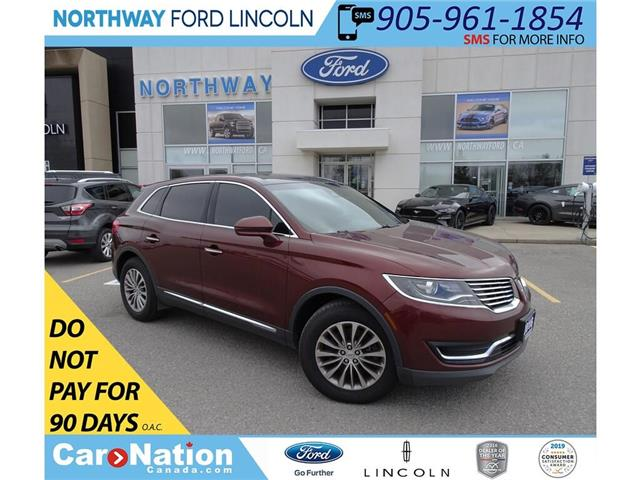 2016 Lincoln MKX Select | NAV | HTD PWR LEATHER | PANO ROOF | (Stk: P5115) in Brantford - Image 1 of 46