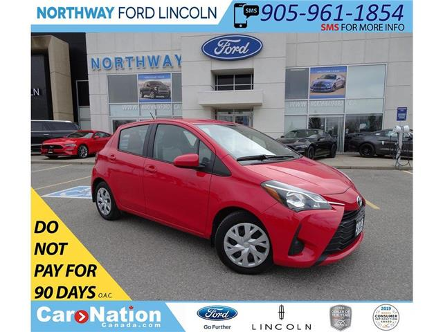 2018 Toyota Yaris LE | HTD SEATS | CRUISE | BLUETOOTH | KEYLESS | (Stk: DR148) in Brantford - Image 1 of 35