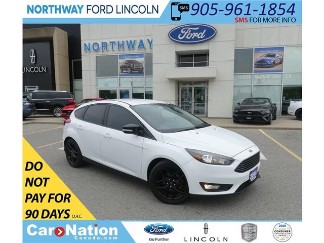2016 Ford Focus SE | KEYLESS ENTRY | BACKUP CAM | BLACK PKG | (Stk: P5189) in Brantford - Image 1 of 36