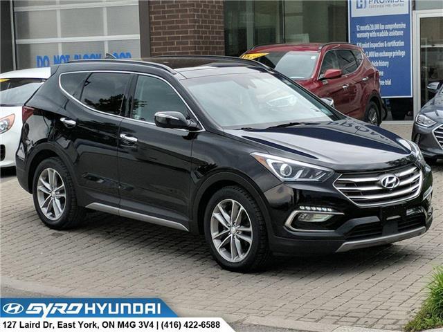 2017 Hyundai Santa Fe Sport 2.0T Ultimate (Stk: H5009A) in Toronto - Image 1 of 18