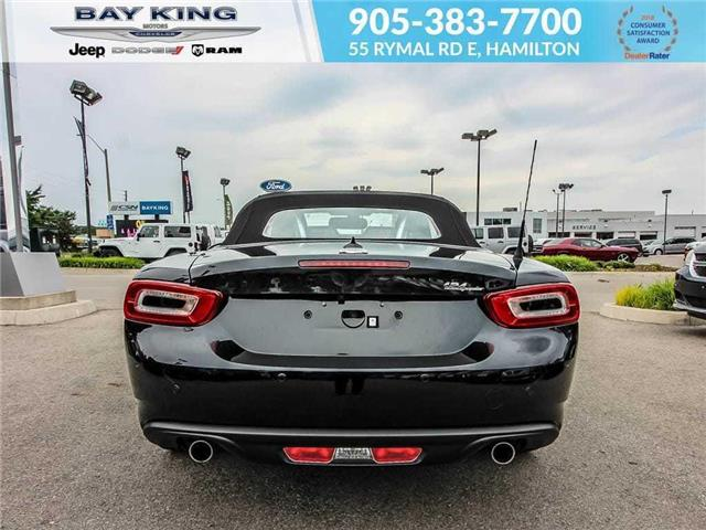 2017 Fiat 124 Spider Lusso (Stk: 6585) in Hamilton - Image 4 of 13