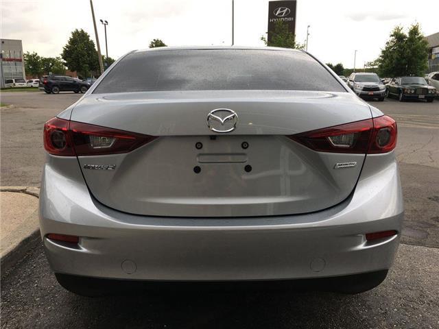 2018 Mazda Mazda3 GS SUNROOF, ALLOY, FOG, TINT, BACK CAM, PUSH BUTTO (Stk: 44215B) in Brampton - Image 17 of 26