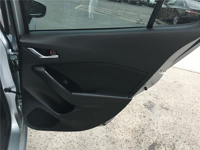 2018 Mazda Mazda3 GS SUNROOF, ALLOY, FOG, TINT, BACK CAM, PUSH BUTTO (Stk: 44215B) in Brampton - Image 20 of 26