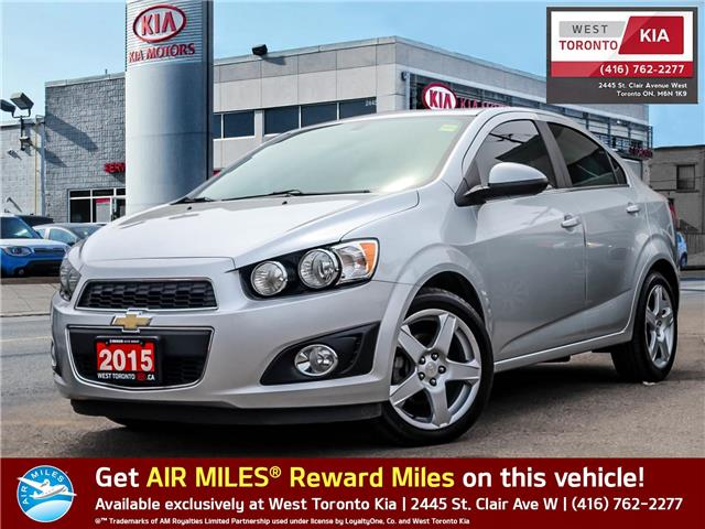 2015 Chevrolet Sonic LT Auto (Stk: P477A) in Toronto - Image 1 of 21