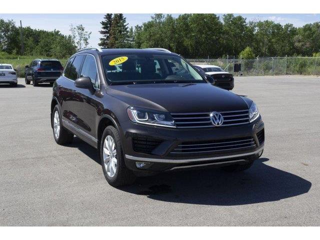 2015 Volkswagen Touareg Sportline (Stk: V627) in Prince Albert - Image 3 of 11