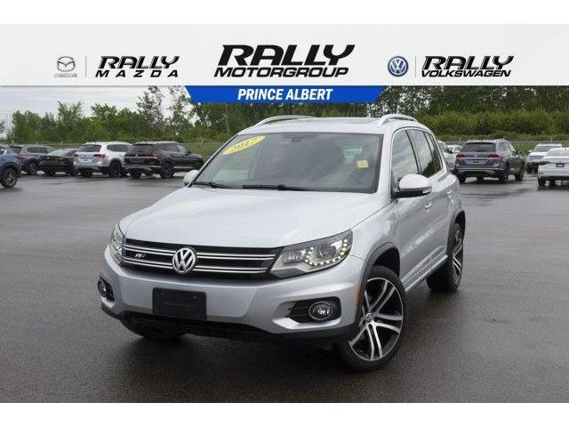 2017 Volkswagen Tiguan Highline (Stk: V886) in Prince Albert - Image 1 of 11