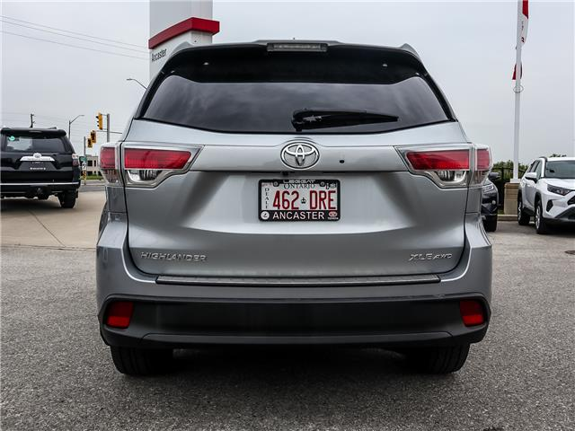 2016 Toyota Highlander XLE (Stk: 3827) in Ancaster - Image 6 of 27