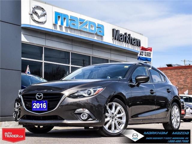 2016 Mazda Mazda3 Sport GT (Stk: N190174A) in Markham - Image 1 of 30