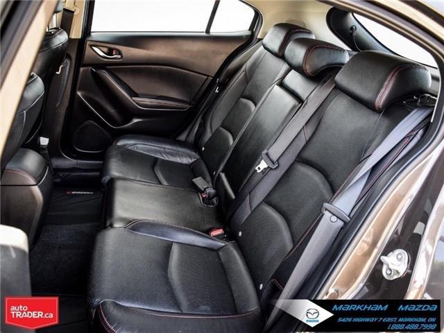 2016 Mazda Mazda3 Sport GT (Stk: N190174A) in Markham - Image 14 of 30