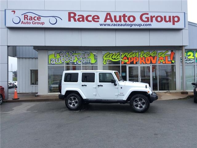 2018 Jeep Wrangler JK Unlimited Sahara (Stk: 16769) in Dartmouth - Image 1 of 20