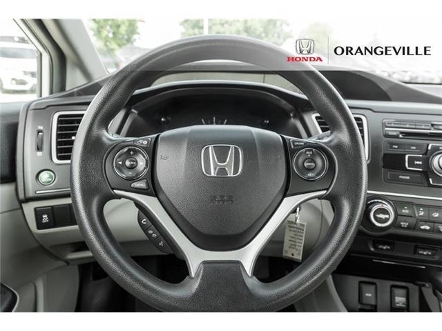 2014 Honda Civic LX (Stk: F19104A) in Orangeville - Image 9 of 18