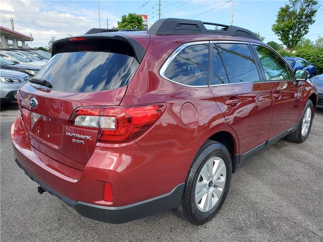 2016 Subaru Outback 3.6R Touring Package (Stk: U3647LD) in Whitby - Image 5 of 25
