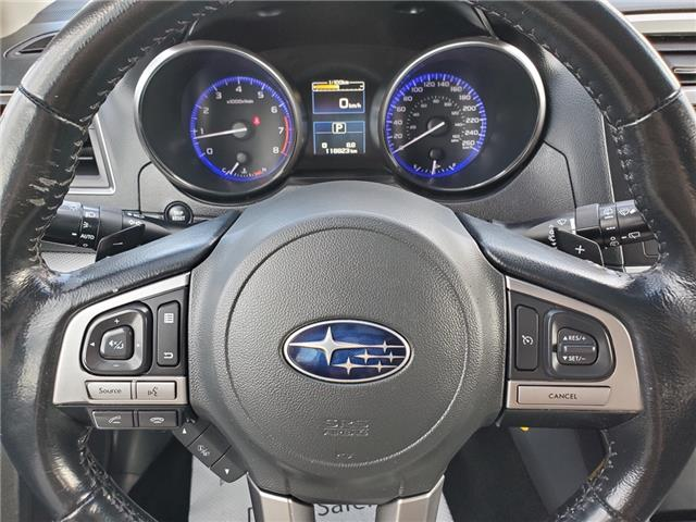 2016 Subaru Outback 3.6R Touring Package (Stk: U3647LD) in Whitby - Image 13 of 25