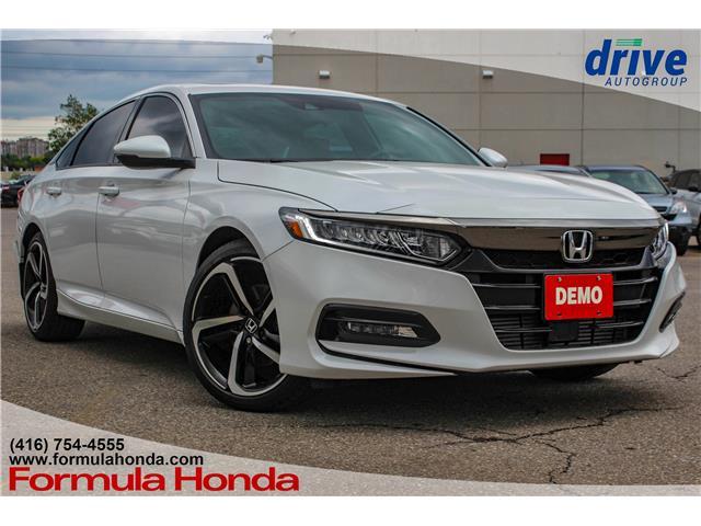 2019 Honda Accord Sport 1.5T 1HGCV1F30KA800673 19-0386D in Scarborough