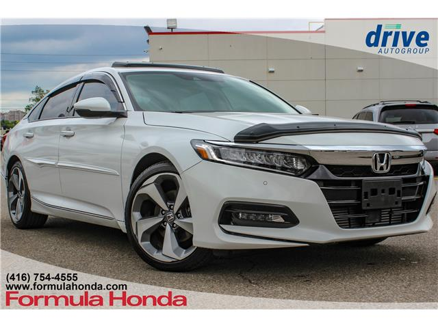 2019 Honda Accord Touring 1.5T (Stk: 19-0460D) in Scarborough - Image 1 of 32