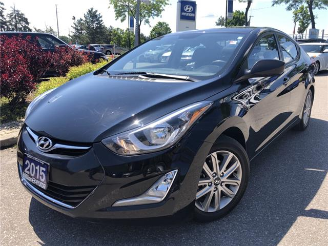 2015 Hyundai Elantra Sport Appearance (Stk: OP10400) in Mississauga - Image 1 of 15