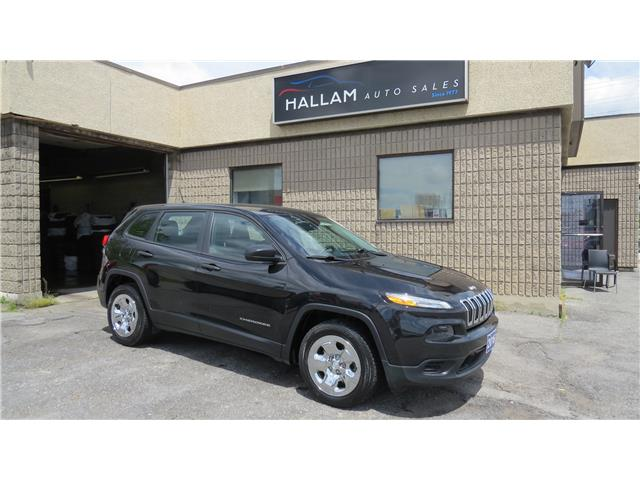 2016 Jeep Cherokee Sport (Stk: ) in Kingston - Image 1 of 17