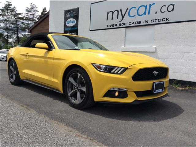 2015 Ford Mustang V6 (Stk: 190911) in Richmond - Image 1 of 24