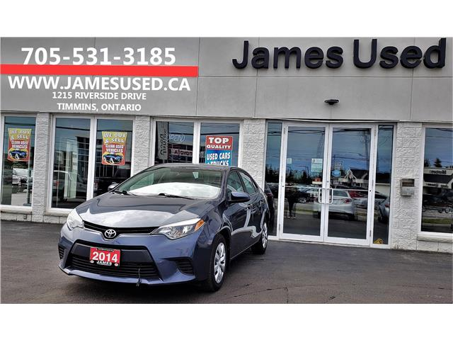 2014 Toyota Corolla LE (Stk: P02626) in Timmins - Image 1 of 15