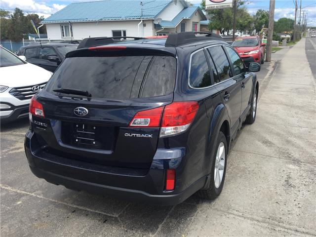 2014 Subaru Outback 2.5i Convenience Package (Stk: 1901) in Garson - Image 4 of 10