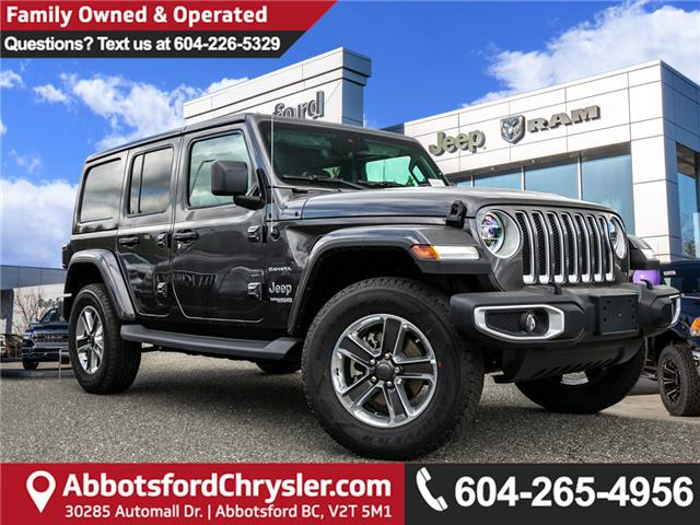 2019 Jeep Wrangler Unlimited Sahara (Stk: K636884) in Abbotsford - Image 1 of 23