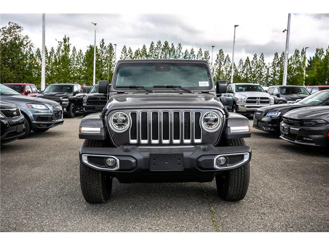 2019 Jeep Wrangler Unlimited Sahara (Stk: K636884) in Abbotsford - Image 2 of 23