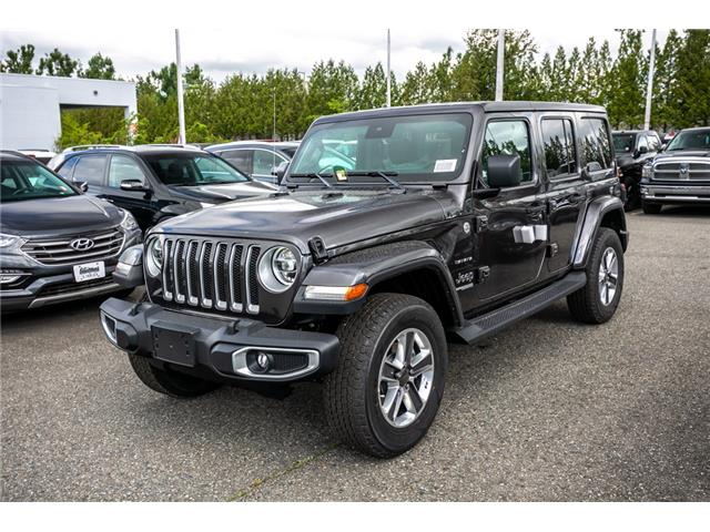 2019 Jeep Wrangler Unlimited Sahara (Stk: K636884) in Abbotsford - Image 3 of 23