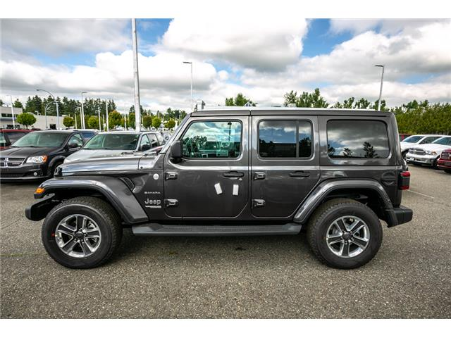 2019 Jeep Wrangler Unlimited Sahara (Stk: K636884) in Abbotsford - Image 4 of 23