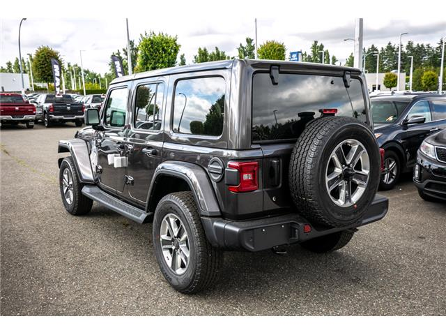 2019 Jeep Wrangler Unlimited Sahara (Stk: K636884) in Abbotsford - Image 5 of 23
