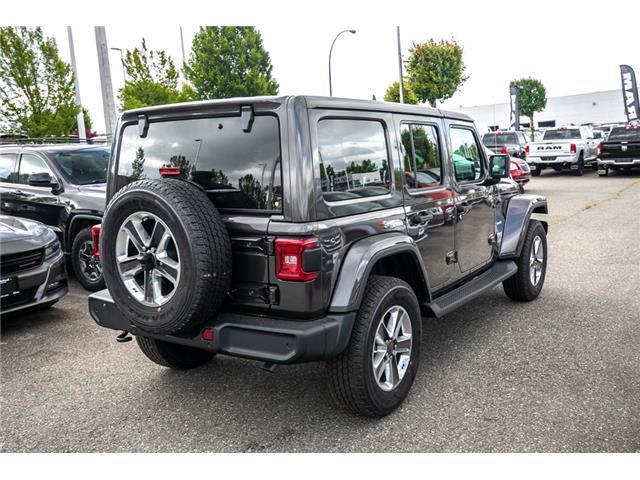 2019 Jeep Wrangler Unlimited Sahara (Stk: K636884) in Abbotsford - Image 7 of 23