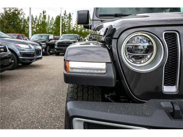 2019 Jeep Wrangler Unlimited Sahara (Stk: K636884) in Abbotsford - Image 11 of 23