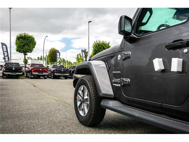 2019 Jeep Wrangler Unlimited Sahara (Stk: K636884) in Abbotsford - Image 14 of 23