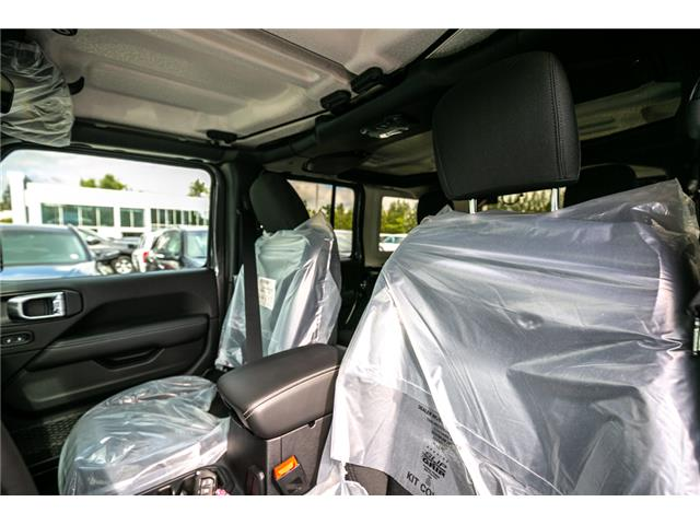 2019 Jeep Wrangler Unlimited Sahara (Stk: K636884) in Abbotsford - Image 20 of 23