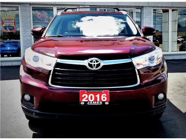 2016 Toyota Highlander XLE (Stk: P02607) in Timmins - Image 2 of 16