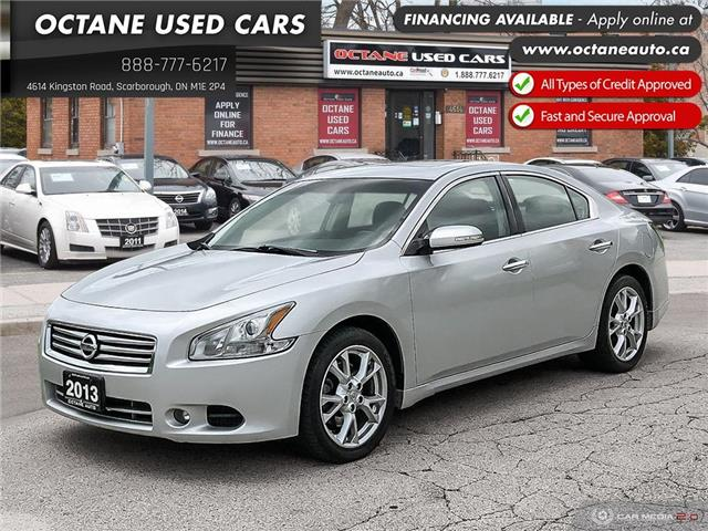2013 Nissan Maxima SV (Stk: ) in Scarborough - Image 1 of 25