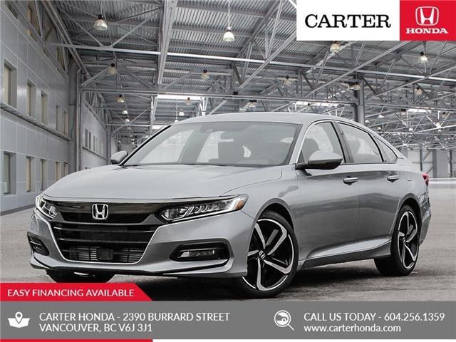 2019 Honda Accord Sport 1.5T (Stk: 6K27500) in Vancouver - Image 1 of 23