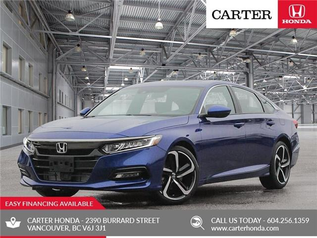 2019 Honda Accord Sport 1.5T (Stk: 6K31360) in Vancouver - Image 1 of 23