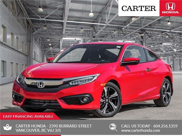 2018 Honda Civic Touring (Stk: 4J12740) in Vancouver - Image 1 of 23