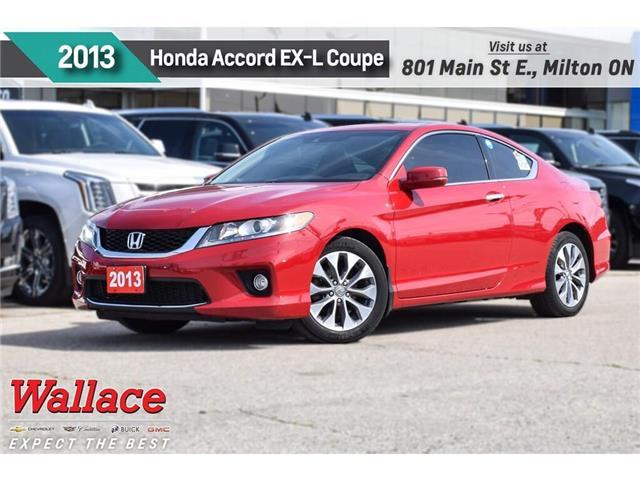2013 Honda Accord EX-L/SUNRF/NAV/LEATHR/HTD STS/DUAL SCRN/CAMRA/18s (Stk: 164214A) in Milton - Image 1 of 29