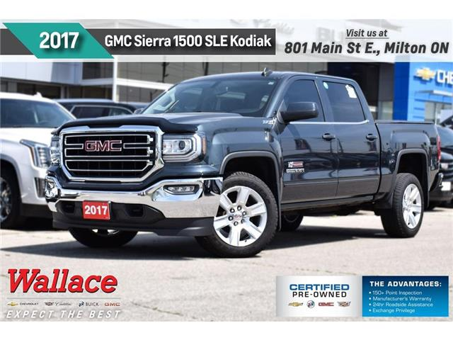 2017 GMC Sierra 1500 SLE/KODIAK/5.3/TRAILR PK/20s/STEPS/G80/NAV (Stk: 312411A) in Milton - Image 1 of 30