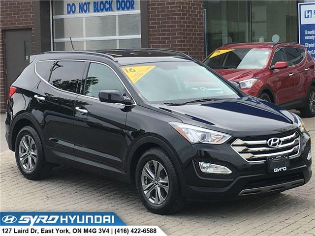 2016 Hyundai Santa Fe Sport 2.0T Premium (Stk: H3968) in Toronto - Image 1 of 30