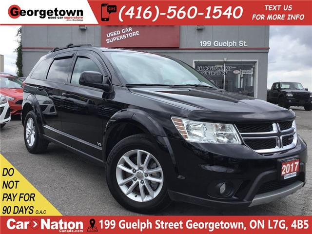 2017 Dodge Journey SXT   V6   PUSH-TO-START   USB/AUX   ALLOYS   (Stk: P12247) in Georgetown - Image 1 of 26